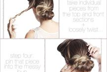 Hair Tutorials / looks for 2013 / by Andrea Hansen
