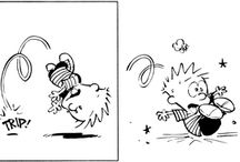 Calvin and hobbes / by Racheal Boggs Reed