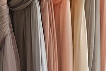 Bridesmaid dresses / color palette - http://www.pinterest.com/pin/47076758577709469/  / by Malorie Lucich