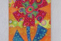 Quilted post cards / by Patti Rusk