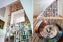 Bookshelves.. / by Emma Salguero