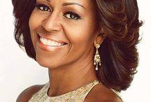 Michelle Obama.  BFF in my head LOL / by Sophia Nelson
