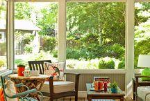 Back porch  / by Julie Newman