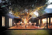 back yard ideas / by Kate Modolo