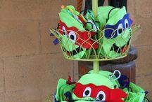 Party Ideas - Teenage Mutant Ninja Turtle / by Marié Rademan