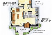 Home::floor plans / by Cheryl Martin