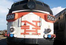 train nerdery. / I Haz a Choo Choo Train Problem. http://www.ihazachoochootrainproblem.com / by Heather Cheney