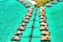 Vacation spots! / by Christy Reina