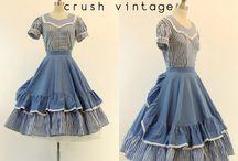 Vintage Dresses / by Cassandra Ann