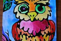 Owl Art Projects / by Gayle Simone