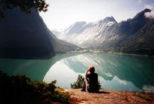 Wanderlust ♥ / Places to go, people to meet, adventures to be discovered. / by Allie Johnson