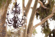Wedding Chandeliers / #wedding #lighting #chandeliers / by Mill Crest Vintage