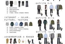 Capsule Wardrobe Ideas / by Michelle Becker