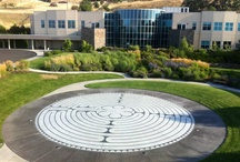 Terrazzo Labyrinth - The Dalles, Oregon.   / by Richard Imus