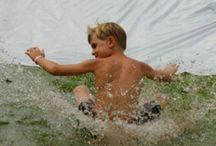 In Summmmmmeeeerrrrrr! / stuff to do in the summer with the kids / by Elizabeth Farhat