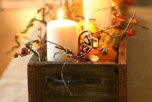 Mom's fall decor board / by Danielle Thompson