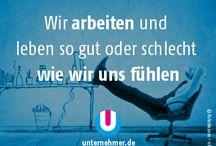 Kleine Büroweisheiten / by unternehmer_de