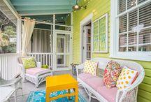 porches, decks, patios & sunrooms / by Soleil Anda Tierney