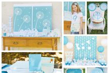 Party & Photo Backdrops / Stenciled party decor ideas for baby showers, bridal showers, birthday parties, and weddings! Or stencil a photo backdrop for a holiday card. / by Cutting Edge Stencils