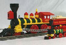 Lego Trains / by Hot Legos