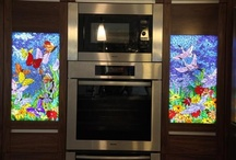 stained glass / by Sherrie Petersen