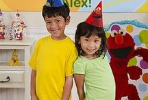 Elmo Party Ideas / Throw the best party on the street! When you celebrate with everything Elmo from invitations, tableware, games, favors, etc., you'll be sure to impress everyone in the neighborhood! / by Party City