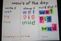 Kinder Center Ideas / by Barbara Esposito