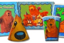 Bear in the Big Blue House Birthday Party Ideas, Decorations, and Supplies / Bear in the Big Blue House Party Supplies from www.HardToFindPartySupplies.com, where we specialize in rare, discontinued, and hard to find party supplies. We also carry several of the more recent party lines.  / by Hard To Find Party Supplies