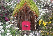 Fairy garden / by Dana Birdyshaw