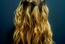 Hairstyles / by Emily Bullard