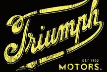 Triumph motorcycles / by Fiona Cochrane