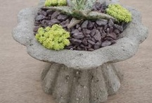 Hypertufa and concrete / by Sonia Rowe