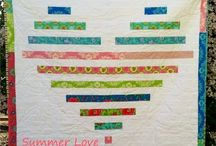 Quilt Ideas--wall or smaller / by Shelly Brands