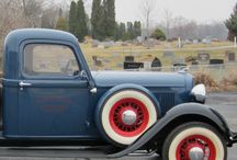 DODGE PICK-UP's / by Gary Cole