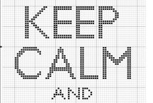 ✂ cross stitch pattern / by Seden Sezer