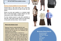 Business Casual / by UTSA CSPD (Center for Student Professional Development)