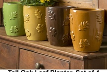 Terrace & Tabletop Planters / by Garden-Fountains.com