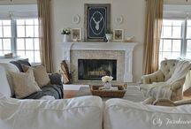 Living room / by Capstone Exterior Design Firm