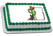 Cowboy Party  / Get out your cowboy boots and hat, because we're in the mood to get a little dusty. C'mon partner, and join us for a swinging good time at the rootinest tootinest Cowboy Party ya'll have ever seen. Yeehaw!  / by DQ® Cakes