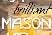 Mason Jar ideas / by Kimberly Shiflett