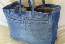 Crafty--Denim & Burlap Ideas / by Lita Sauve