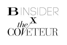 B Insider X The Coveteur / We teamed up with The Coveteur to talk spring fashion with trend forecaster & stylist, Yasmin Sewell. / by Hudson's Bay