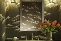 Bathroom ideas / by Crystal Wise Gilbert