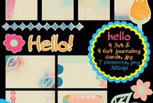 Digital Journaling Cards and Scrapbooking Kits by Sunshine Inspired Designs / This board is dedicated to journaling cards/ filler cards and scrapbooking kits by Sunshine Inspired Designs, freebies and for purchase / by Ania Kozlowska-Archer