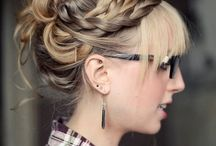 hairstyles / by Jane Hawley