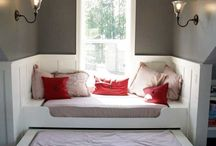 Bedrooms / by Stephanie Haag