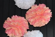 Homemade Party Decorations / by Amy {fun-baby-shower-ideas.com}