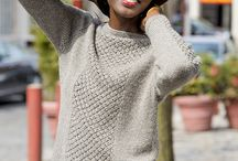 Knitting:  Sweaters, Cardigan, Vests . . . . / by Lone Bach