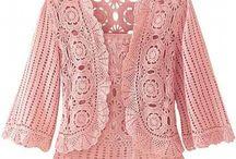 chaquetas tejidas al crochet / by clara martinez