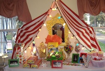 Circus Party Ideas / We guess you don't have a fear of clowns if you're taking a look at this board! Invite all the circus characters to your party, enjoy the tightrope and have a ton of fun with the dramatic party theme!  / by PartyCheap.com